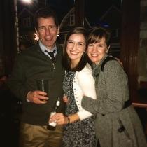 Cheers to Joe & Karen.
