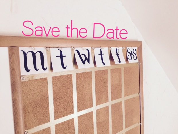 calendar title