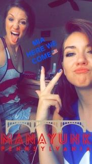 sister selfies