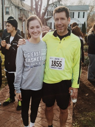 turkey trots with joe