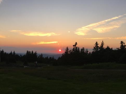 Sunset Greylock